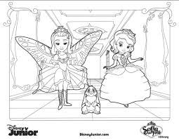 Free Coloring Disney Jr Pages Frozen New At Junior
