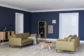 wohnzimmer in dunkelblau bild 13 schöner wohnen