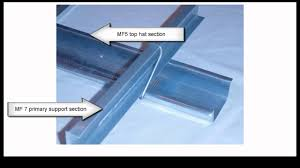 Ceiling Joist Span For Drywall by Metal Stud Walls And Ceilings Youtube