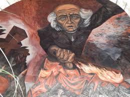 Jose Clemente Orozco Murales by Detalle Mural Del Padre Hidalgo Por El Artista José Clemente