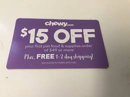 CHEWY.COM $15 Off Your First Order Of $49 Or More Coupon ... Engravedstonet Coupon Code Blick Art Supplies Alpine Trekcouk Discount Coolknobsandpullscom Sizable Chewy Discount Code Ps Plus World Of Discounts Skatebuys Fast Food Delivery Promo Codes 50 Off Your First Order On Select Brands Chewycom 15 Of 49 Or More Coupon Business Maker Crowne Plaza Shift Rite Tramissions Buy Tea Bags Online Uk Fossil In Store Hodnett Cooper Rapid Fired Pizza Fairfield Coupons Labels Cenveo Pet Rx Medication Food Free