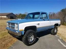 1983 To 1985 Chevrolet Silverado For Sale On ClassicCars.com Before And After The 1947 Present Chevrolet Gmc Truck Tri Axle Dump Trucks For Sale In Nc Together With Used Mack Or 1983 Silverado 4x4 Stock C104x4 For Sale Near Sarasota Show Frame Up Pro Build 4x4 With Chevy Old Photos Collection Pickup 34 Ton 10 Pickup You Can Buy Summerjob Cash Roadkill Blazer Overview Cargurus Classic Buyers Guide Drive Shortbed Diesel K10