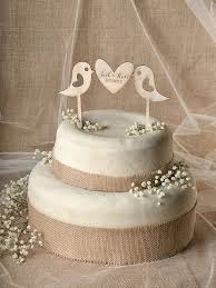 This Beautiful Cake Topper Is Made From Wood Perfect To Outdoor Rustic Wedding Measures