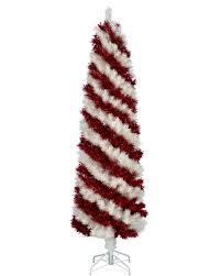 White Flocked Pencil Christmas Tree by Christmas Tree White Christmas Lights Decoration