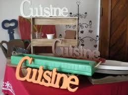 lettre cuisine en bois déco cuisine lettre exemples d aménagements
