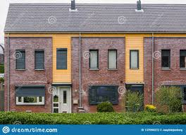 100 Modern Homes Architecture Two Terraced Houses Decorated With Diverse Plants