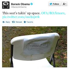 obama the empty chair tweet response the empty chair respo flickr