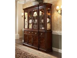 Henredon Breakfront China Cabinet by Dining Room Cabinets West Coast Living Orange County And South