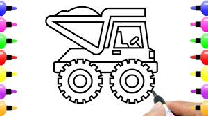How To Draw Loaded Dump Truck For Kids | Children's Coloring Page ... Build Your Own Dump Truck Work Review 8lug Magazine Truck Collection With Hand Draw Stock Vector Kongvector 2 Easy Ways To Draw A Pictures Wikihow How To A Pop Path Hand Illustration Royalty Free Cliparts Vectors Drawing At Getdrawingscom For Personal Use Cartoon Youtube Rhenjoyourpariscom Vector Illustration Stock The Peterbilt Model 567 Vocational News Coloring Pages Kids Learn Colors Dump Coloring Pages Cstruction Vehicles