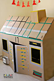 how to build the most simple cardboard house from just 1 cardboard