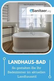 badezimmer im landhausstil gestaltung farben möbel