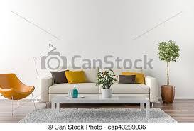 wohnzimmer wand hintergrund weißes leerer wohnzimmer