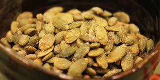 Shelled Pumpkin Seeds Protein by Spiced Hulled Pumpkin Seeds Recipes Food Network Canada