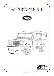 Coloring Sheets Cars 2 Pages Land Rover Iii Lamborghini Printable Of And Trucks Full Size