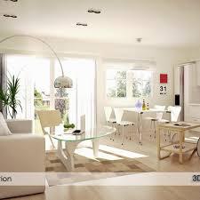 Modern Living Room Design On Behance Interior Living