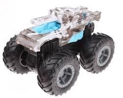 100 Hot Wheels Monster Truck Toys Monster Truck Bash Up Invader 143 White