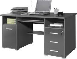 bureau gris laqué bureau informatique classique coloris gris los angeles bureau