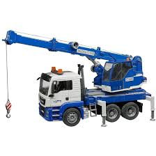 Bruder Toys Kids MAN TGS Crane Truck With Light & Sound Module 03770 ...