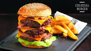 au bureau resto the colossal burger made in au bureau strasbourg picture of