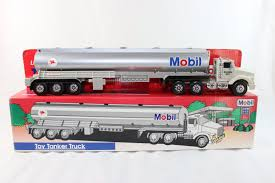 100 Toy Tanker Trucks 1993 Mobil Truck Limited Edition Collectors Series