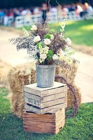 Wooden Crate Decorating Ideas Rustic Wedding Decoration With Crates Wood