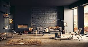 Modern Industrial Living Room Ideas Pinterest Rustic Industrial