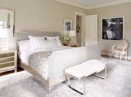 a master bedroom design in and white with a beautiful