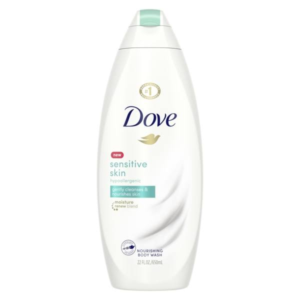 Dove Body Wash - Sensitive Skin, 22oz