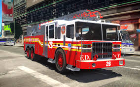 100 Gta Iv Fire Truck Mods 2013 Ferrara 100 Aerial Ladder FDNY Version 2 With Working