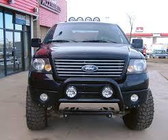 Driving Lights For Trucks by 2008 Ford F150 Aries Black Bull Bar Go Rhino Black Roll Bars