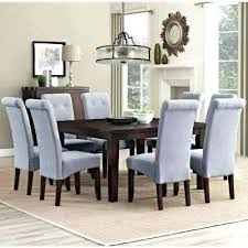 High Quality Dining Room Furniture Brown Table With Gray Chairs Amazing Kitchen