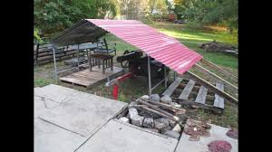 10x20 Metal Storage Shed by Converted Shelter Logic Frame To Metal Storage Shed Shelter Youtube