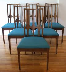 Dining Room Chairs Set Of 6 by Teal Dining Chairs Teal Fabric Dining Chairs Broyhill Brasilia