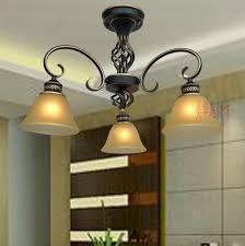 Multiple Chandelier Dining Room Bedroom Creative Lamp Lights Penthouse Floor Antique Lighting Special Offer Outline Gold