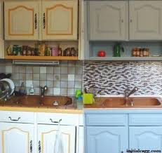 relooking cuisine ancienne idée relooking cuisine avant après rénover sa cuisine en 2 week