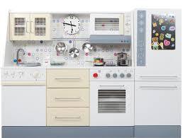 cuisine en bois enfants cuisine enfant cooky clock jouet barrutoys petit cuisinier place