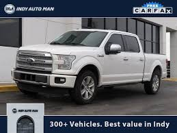 100 Used Trucks Indianapolis PreOwned 2015 Ford F150 Platinum 4D SuperCrew In