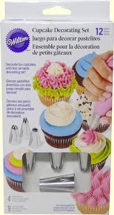 12 Pc Cupcake Decorating Set