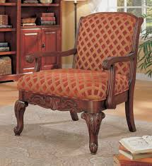 Coaster Red Traditional Accent Chair