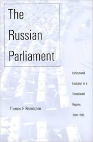The Russian Parliament Institutional Evolution in a Transitional