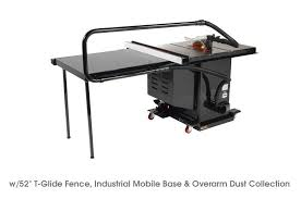 Cabinet Table Saw Mobile Base by Sawstop Industrial Cabinet Saw With Fence