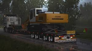 Heavy Oversized Trailers With Machinery – Euro Truck Simulator 2 Mod ...