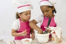 programme des cours de cuisine pour enfants fort de