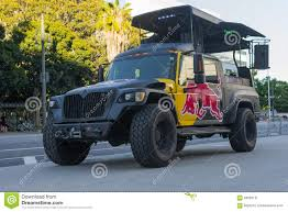 Red Bull Truck Music Station Editorial Photo - Image Of Fitness ...
