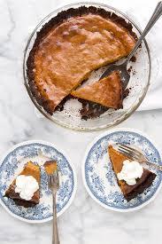 Pumpkin Pie With Gingersnap Crust Gluten Free by Grilled Pumpkin Pie With Hickory Smoked Ginger Snap Crust