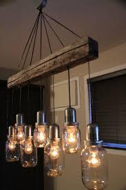 unique jar light chandelier pendant ceiling 7 jars vintage