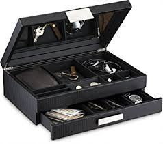 Mens Dresser Valet Plans by Amazon Com Glenor Co Mens Valet Dresser Organizer 12 Slot