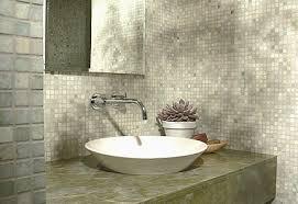ming green marble tile 1x1 tumbled mesh mounted tile