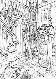 Christmas Coloring Pages Challenging