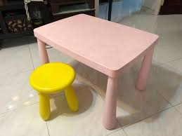 IKEA Kids Table - Free Chair And Delivery Ikea Mammut Kids Table And Chairs Mammut 2 Sells For 35 Origin Kritter Kids Table Chairs Fniture Tables Two High Quality Childrens Your Pixy Home 18 Diy Latt And Hacks Shelterness Set Of Sticker Designs Ikea Hackery Ikea